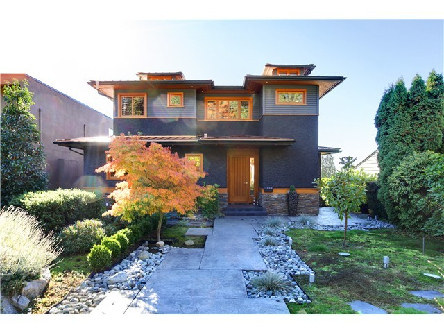 Main Photo: 1524 OTTAWA AV in West Vancouver: Ambleside House for sale : MLS® # V1045869