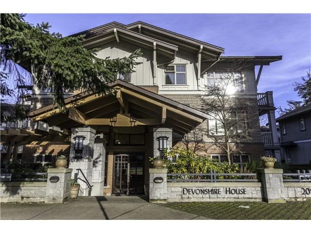 Main Photo: # 120 2083 W 33RD AV in Vancouver: Quilchena Condo for sale (Vancouver West)  : MLS® # V1099341