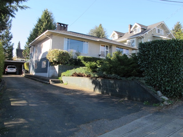 Main Photo: 334 HOULT STREET in New Westminster: The Heights NW House for sale : MLS® # R2050186