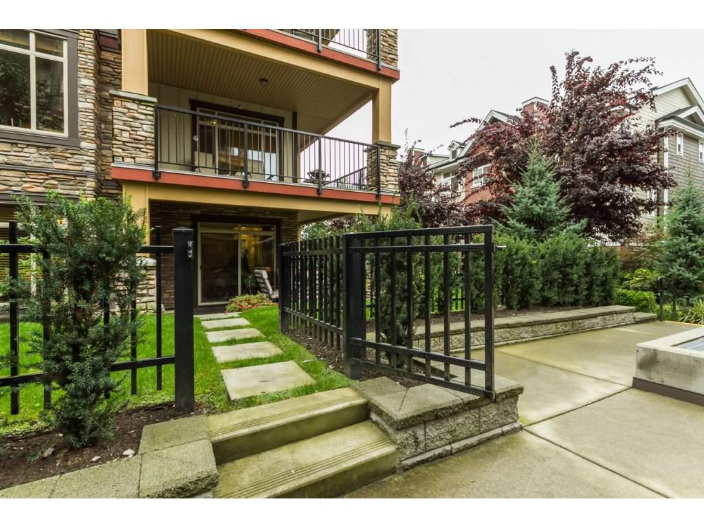 Main Photo: 104 8328 207A STREET in Langley: Willoughby Heights Condo for sale : MLS® # R2106149
