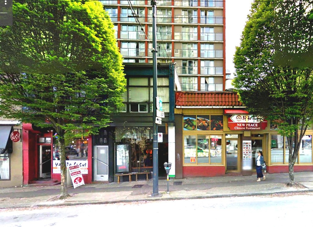 Main Photo: ~ 700 SQ FT RESTAURANT~ in : Downtown Business for lease (Vancouver West)  : MLS® # C8008456