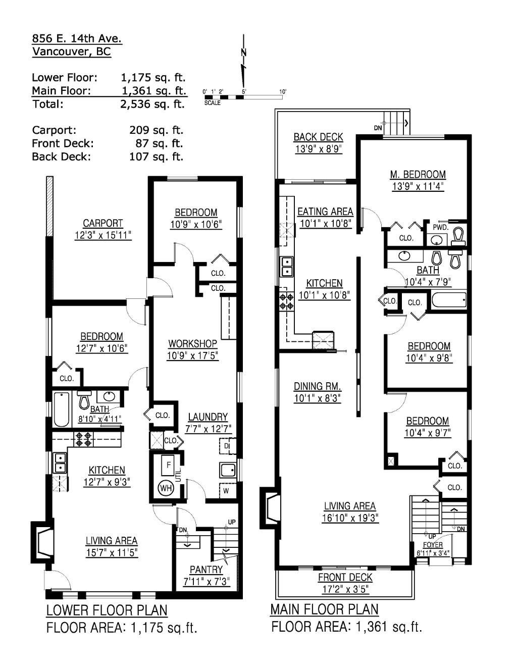 Photos 856 e 14th avenue in vancouver mount pleasant ve for House plans vancouver