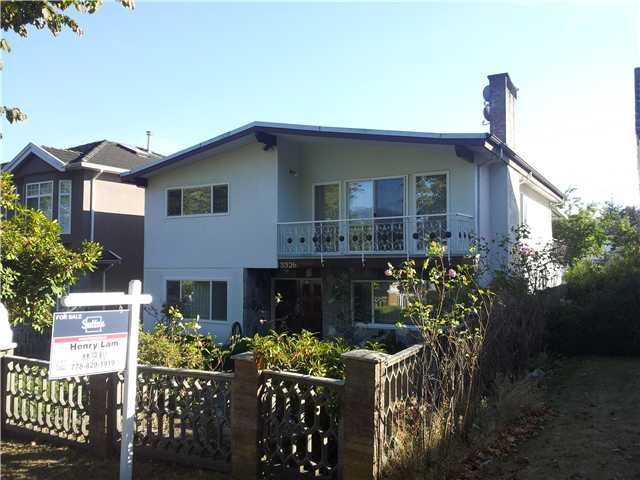 Main Photo: 3326 E 2ND Avenue in Vancouver: Renfrew VE House for sale (Vancouver East)  : MLS® # V974941