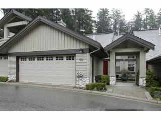 "Main Photo: 64 1550 LARKHALL Crest in North Vancouver: Northlands Townhouse for sale in ""NAHANEE WOODS"" : MLS(r) # V994915"