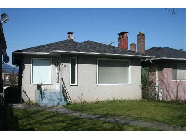 Main Photo: 2857 E 22ND Avenue in Vancouver: Renfrew Heights House for sale (Vancouver East)  : MLS® # V997966
