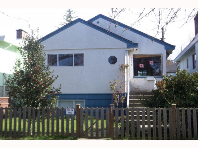 Main Photo: 5216 Prince Albert Street in Vancouver: Fraser VE House for sale (Vancouver East)  : MLS(r) # V814016