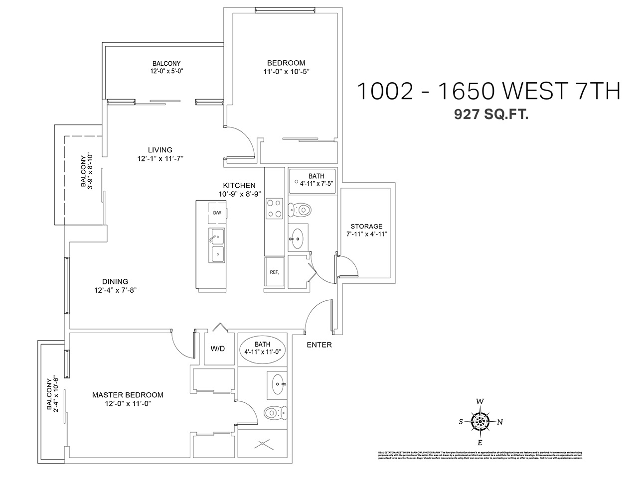 Photo 19: 1002 1650 W 7TH AVENUE in Vancouver: Fairview VW Condo for sale (Vancouver West)  : MLS® # R2022214