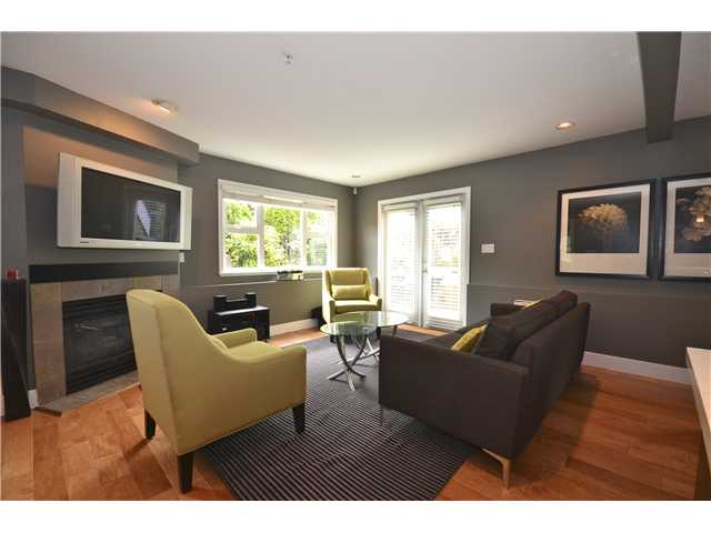 Photo 5: 2089 BAYSWATER Street in Vancouver: Kitsilano Townhouse for sale (Vancouver West)  : MLS(r) # V946811