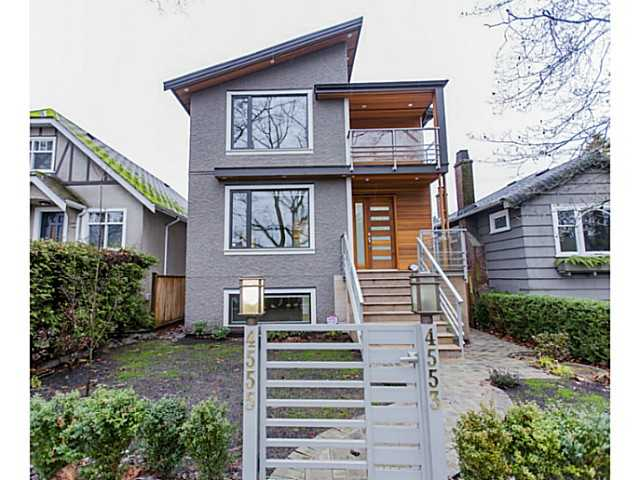 Main Photo: 4553 - 4555 BLENHEIM Street in Vancouver: Dunbar House for sale (Vancouver West)  : MLS® # V1082446