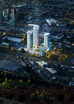 Photo 3: LUMINA: WATERFALL in Burnaby: Brentwood Park Condo for sale (Burnaby North)  : MLS® # PRESALE
