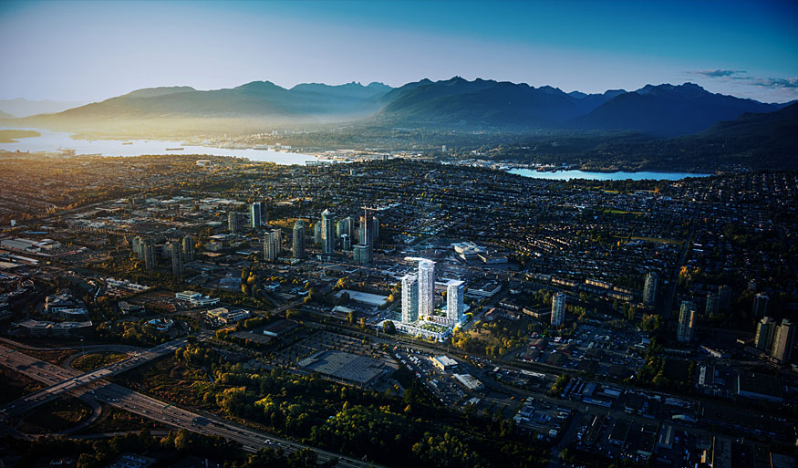 Photo 2: LUMINA: WATERFALL in Burnaby: Brentwood Park Condo for sale (Burnaby North)  : MLS® # PRESALE