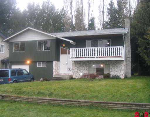 Main Photo: 32993 BRACKEN AV in Mission: Mission BC House for sale : MLS(r) # F2604990