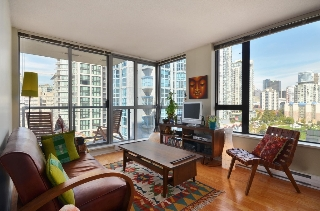 Main Photo: 1101 1295 RICHARDS Street in Vancouver: Downtown VW Condo for sale (Vancouver West)  : MLS(r) # V972152