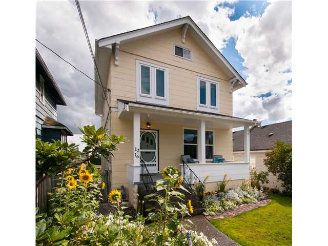 Main Photo: 1216 HAMILTON ST in New Westminster: West End NW House for sale : MLS(r) # V988435