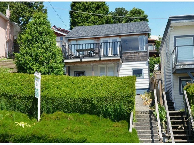 Main Photo: 15523 COLUMBIA AV: White Rock House for sale (South Surrey White Rock)  : MLS®# F1414879