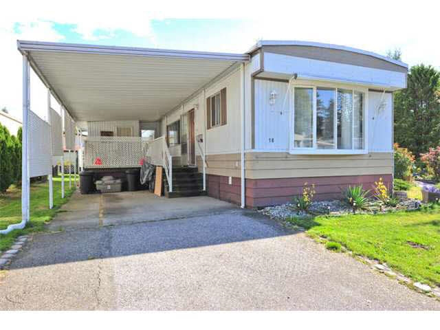 Main Photo: 18 8560 156 STREET in Surrey: Fleetwood Tynehead Manufactured Home for sale : MLS® # R2042111