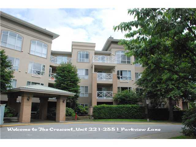 Main Photo: 221 2551 Parkview in Port Coquitlam: Home for sale