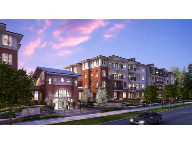 Main Photo: 425 9399 Odlin Rioad in Richmond: West Cambie Condo for sale