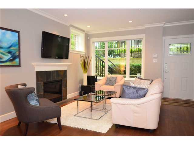 Photo 4: 2862 SPRUCE Street in Vancouver: Fairview VW Townhouse for sale (Vancouver West)  : MLS® # V956552