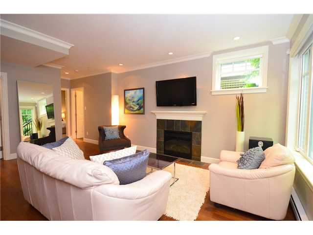 Photo 3: 2862 SPRUCE Street in Vancouver: Fairview VW Townhouse for sale (Vancouver West)  : MLS® # V956552