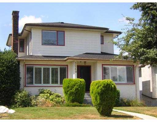 Main Photo: 3249 TRUTCH ST in : Arbutus House for sale : MLS®# V604314