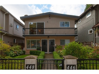 Main Photo: # 446 448 E 44TH AV in Vancouver: Fraser VE House for sale (Vancouver East)  : MLS® # V1088121