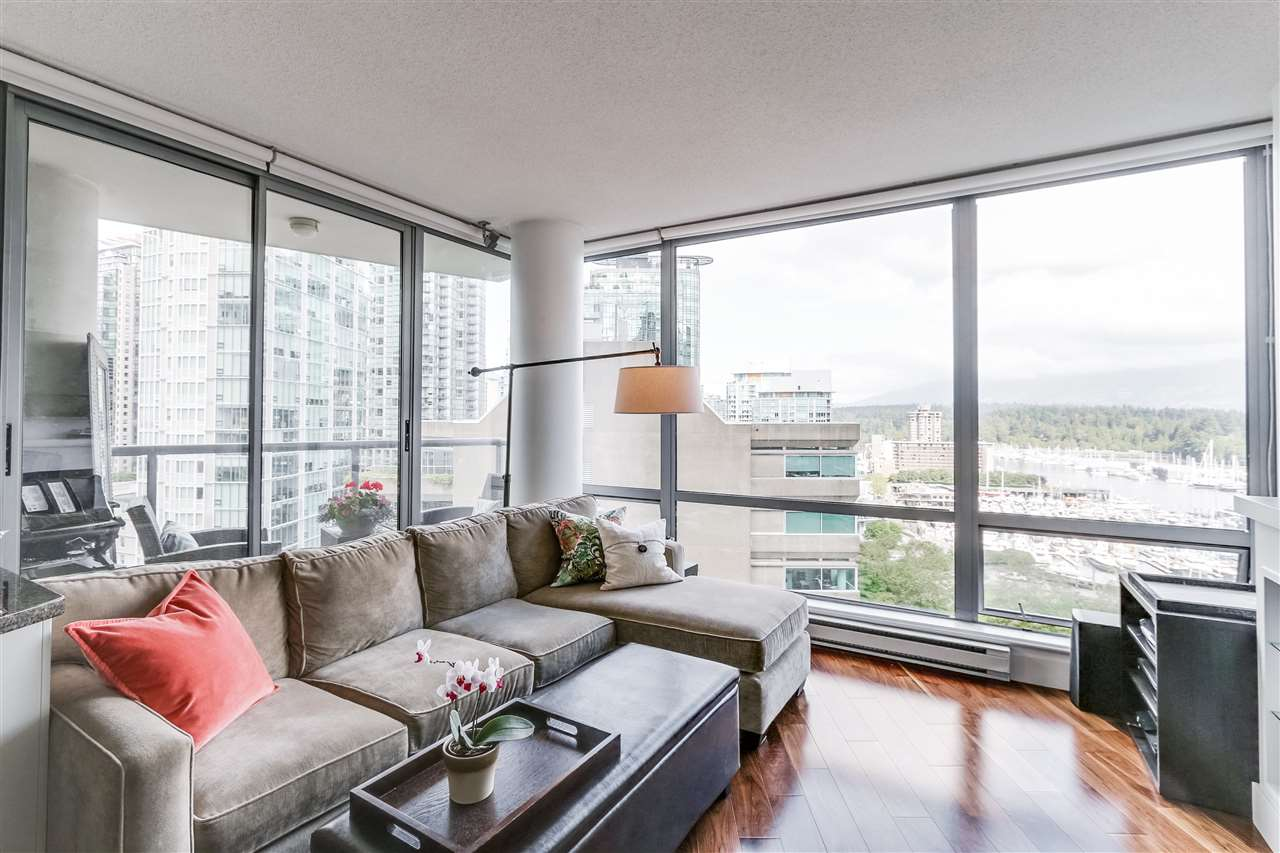 Main Photo: 1404 1228 W HASTINGS STREET in Vancouver: Coal Harbour Condo for sale (Vancouver West)  : MLS(r) # R2136155