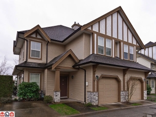 "Main Photo: 3 18707 65TH Avenue in Surrey: Cloverdale BC Townhouse for sale in ""The Legends At Clayton Hollow"" (Cloverdale)  : MLS®# F1206411"