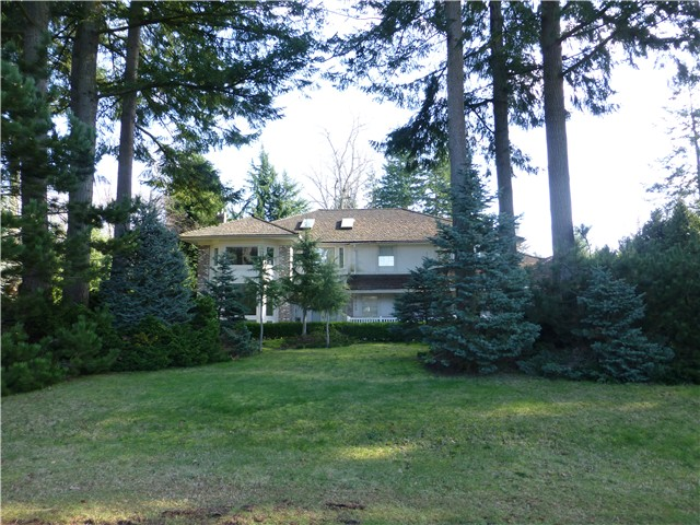 Main Photo: 2462 139TH ST in Surrey: Elgin Chantrell House for sale (South Surrey White Rock)  : MLS® # F1432900