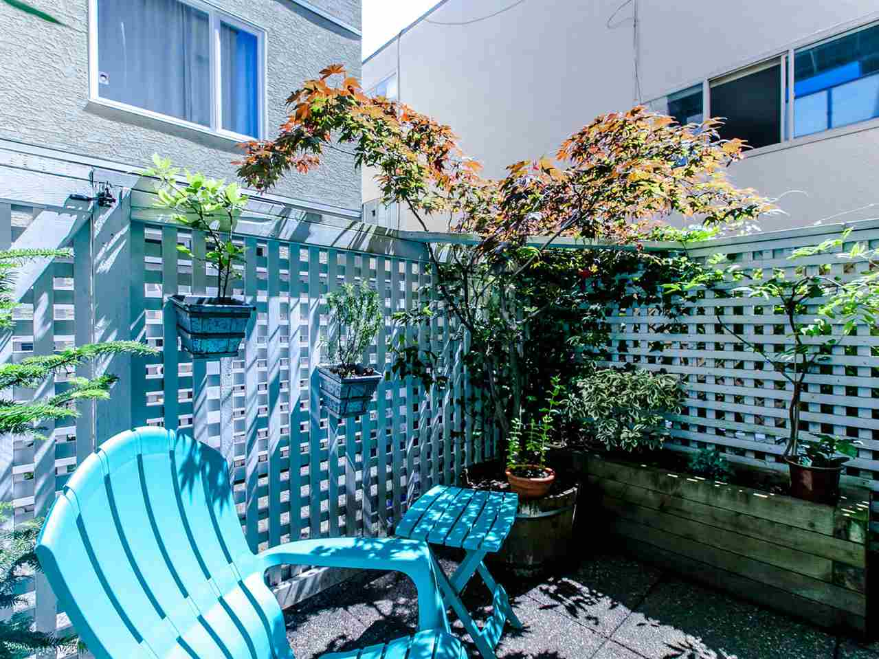 Photo 6: 104 1554 BURNABY STREET in Vancouver: West End VW Condo for sale (Vancouver West)  : MLS® # R2089481