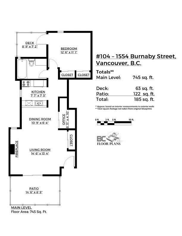 Photo 20: 104 1554 BURNABY STREET in Vancouver: West End VW Condo for sale (Vancouver West)  : MLS® # R2089481