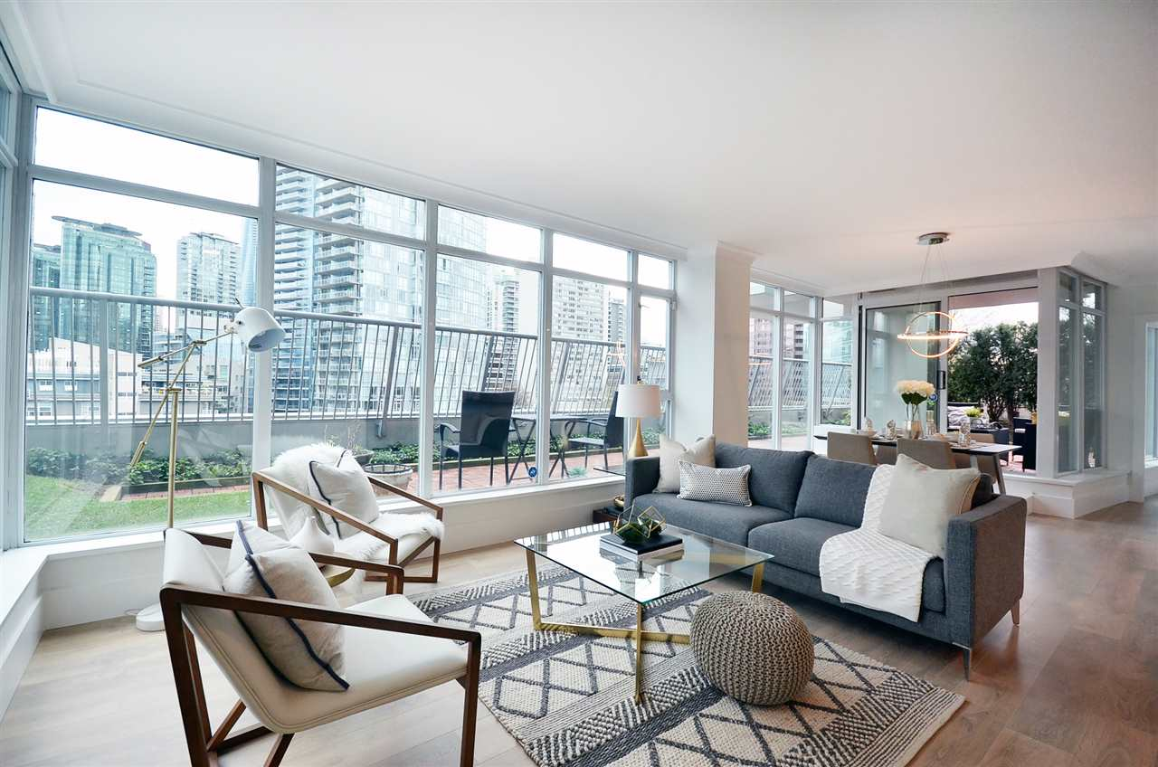 Photo 6: 803 1616 BAYSHORE DRIVE in Vancouver: Coal Harbour Condo for sale (Vancouver West)  : MLS(r) # R2128856