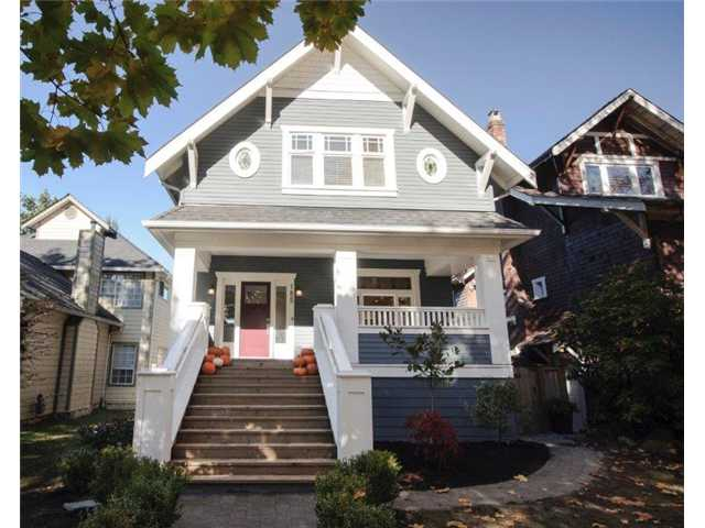Main Photo: 185 W 18TH AV in Vancouver: Cambie House for sale (Vancouver West)  : MLS® # V1033214