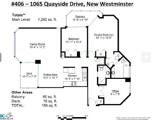 Main Photo: 406 1065 Quayside Drive in New Westminister: Quay Condo for sale (New Westminster)  : MLS® # v1122954