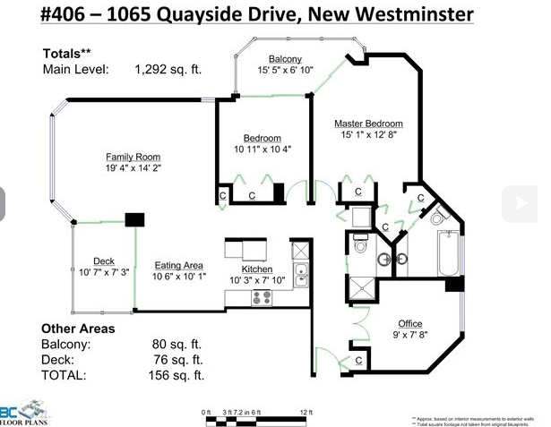Main Photo: 406 1065 Quayside Drive in New Westminister: Quay Condo for sale (New Westminster)  : MLS(r) # v1122954