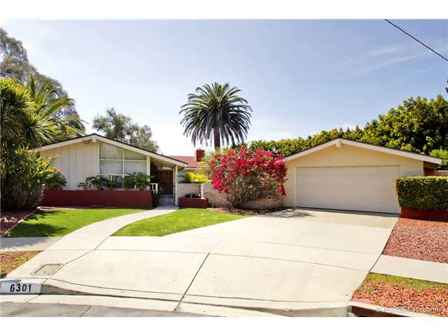 Main Photo: DEL CERRO House for sale : 3 bedrooms : 6301 N Glenmont Street in San Diego