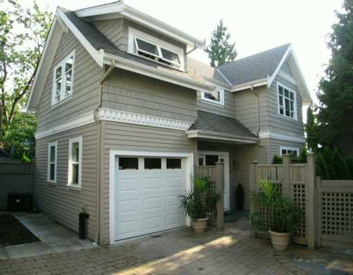 Main Photo: 2480 W 5TH AV in Vancouver: Kitsilano House for sale (Vancouver West)  : MLS® # V596900