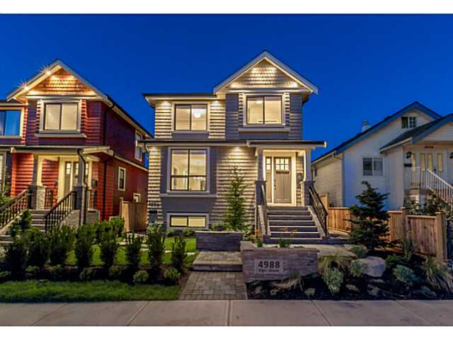 Main Photo: 4988 ELGIN Street in Vancouver: Knight House for sale (Vancouver East)  : MLS® # V1078955