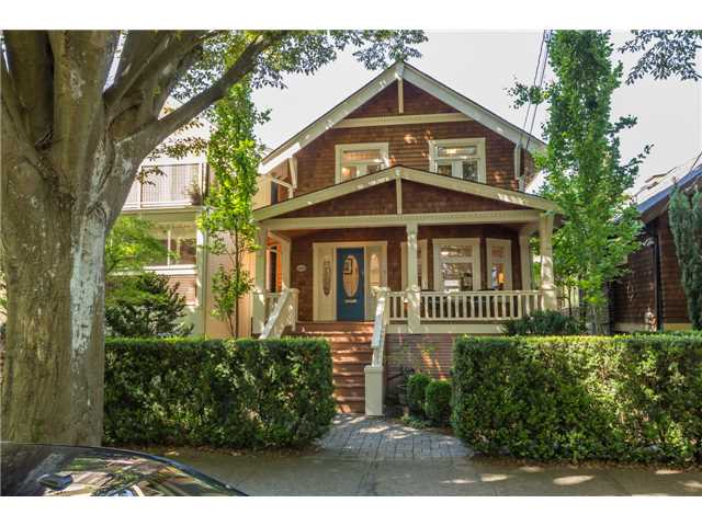 Main Photo: 2233 TRAFALGAR ST in Vancouver: Kitsilano House for sale (Vancouver West)  : MLS® # V1137194