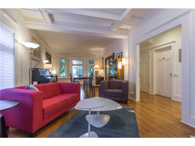 Photo 4: 2233 TRAFALGAR ST in Vancouver: Kitsilano House for sale (Vancouver West)  : MLS® # V1137194