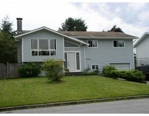 Main Photo: 22908 EAGLE AV in Maple Ridge: East Central House for sale : MLS® # V544837