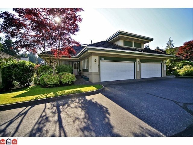 "Main Photo: 102 4001 OLD CLAYBURN Road in Abbotsford: Abbotsford East Townhouse for sale in ""CEDAR SPRINGS"" : MLS®# F1306251"