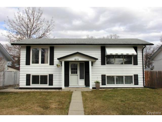 Main Photo: 815 Isbister Street in WINNIPEG: Westwood / Crestview Residential for sale (West Winnipeg)  : MLS® # 1409219