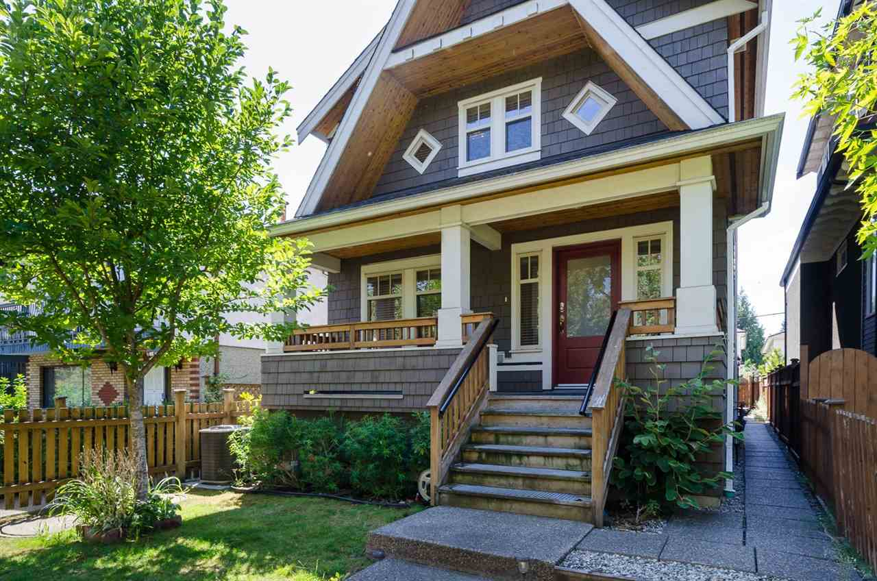 Main Photo: 1252 E 11TH AVENUE in Vancouver: Mount Pleasant VE House 1/2 Duplex for sale (Vancouver East)  : MLS(r) # R2002820
