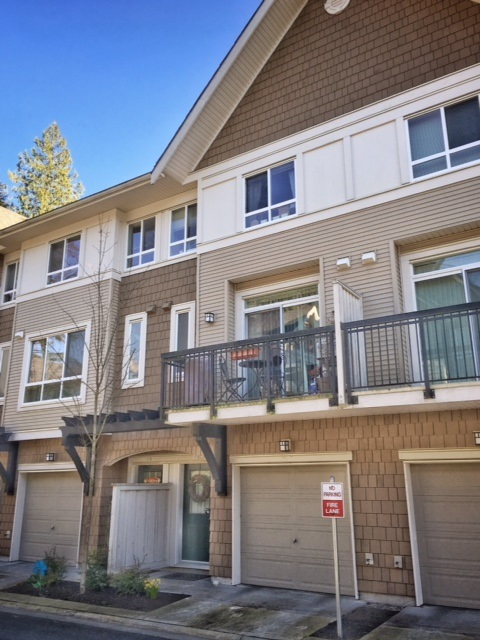 Main Photo: 28 1305 SOBALL STREET in Coquitlam: Burke Mountain Townhouse for sale : MLS® # R2046035