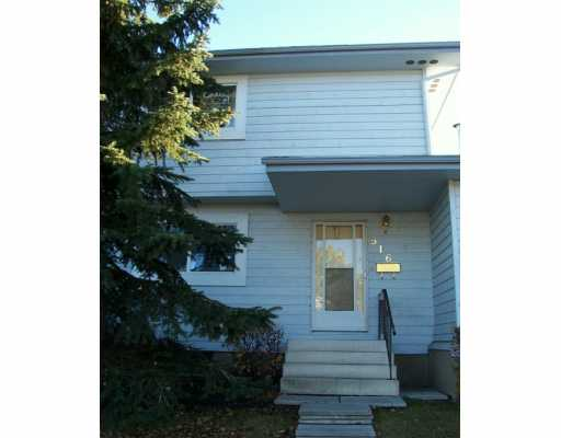Main Photo: : Airdrie Townhouse for sale : MLS® # C3236415