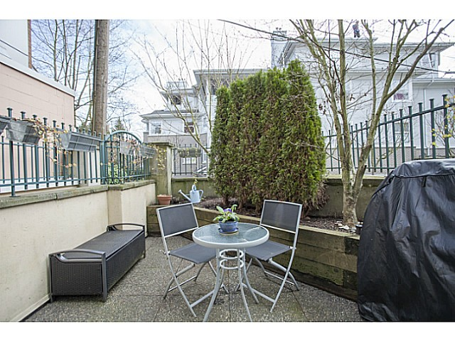 Photo 10: # 104 3278 HEATHER ST in Vancouver: Cambie Condo for sale (Vancouver West)  : MLS® # V1105651