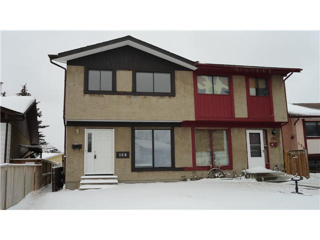 Main Photo: 158 ABALONE Place NE in CALGARY: Abbeydale Residential Attached for sale (Calgary)  : MLS® # C3558137