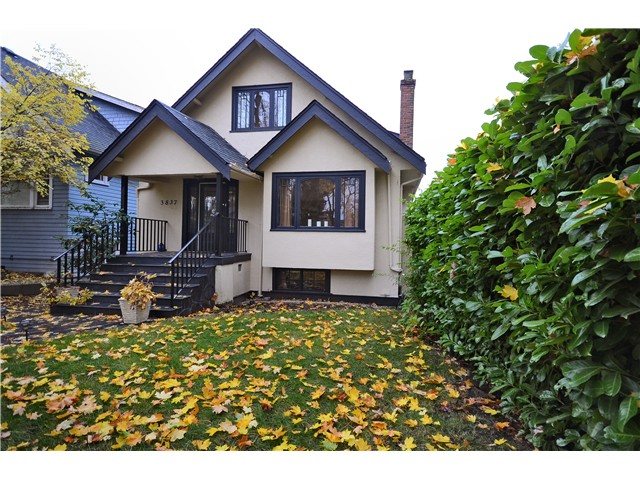 Main Photo: 3837 W 16TH AV in Vancouver: Point Grey House for sale (Vancouver West)  : MLS(r) # V1034498