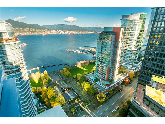Main Photo: # 2804 1205 W HASTINGS ST in Vancouver: Coal Harbour Condo for sale (Vancouver West)  : MLS® # V1093724